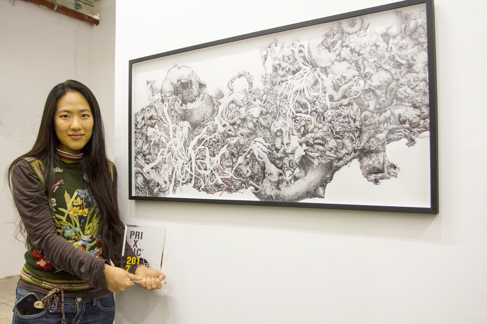 Jisoo-Yoo-lauréate du Prix BIC 2017 (c) Gabriella Benkő
