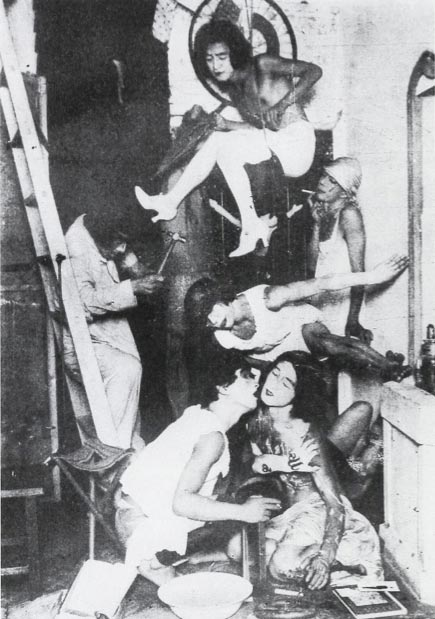 Le groupe Mavo photo en noir et blanc