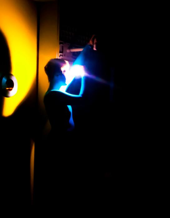 Performance de Nathanaël Ruiz de Infante au Studio 5, © Mikhail Malt