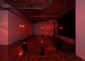 Aphélie, toutes les étoiles sont déjà mortes, 2021, Vue d'installation, Centre d'art Ygrec-ENSAPC, Aubervilliers, France © Objets pointus