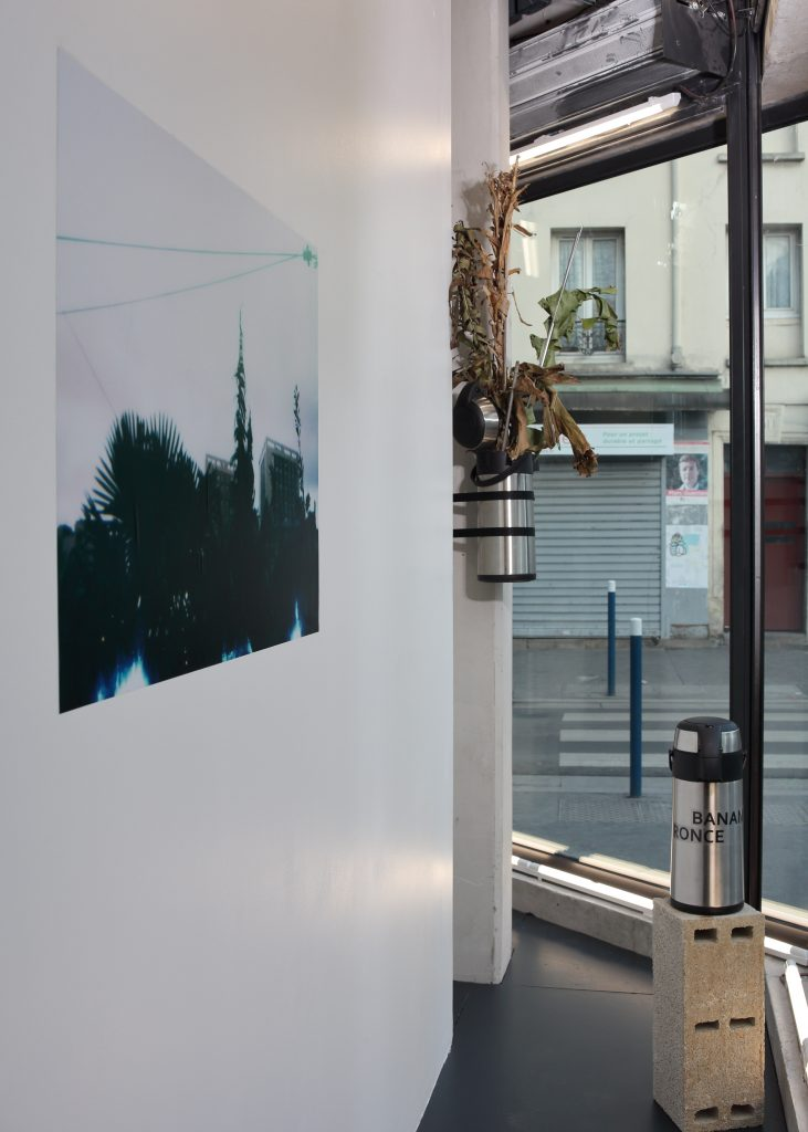 Goût métal, 2021, vue d'installation, © Objets pointus