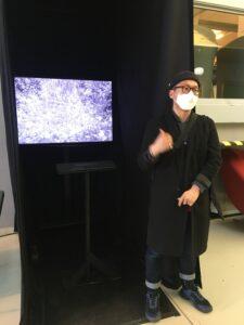 Wonwoo Kim, SPACE, performance vidéo, 2021