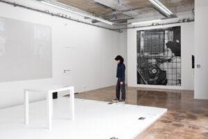 """Claudia Triozzi, """"Pour une thèse vivante"""", vues d'installations, 2021, Ygrec-ENSAPC, Aubervilliers, © Margot Montigny"""